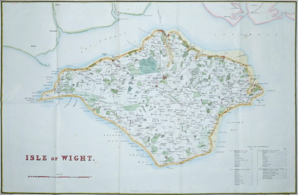 Collins (H.G.) Isle of Wight, [1852]