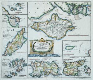 Morden (Robert) The Smaller Islands in the British Ocean, [c.1695]