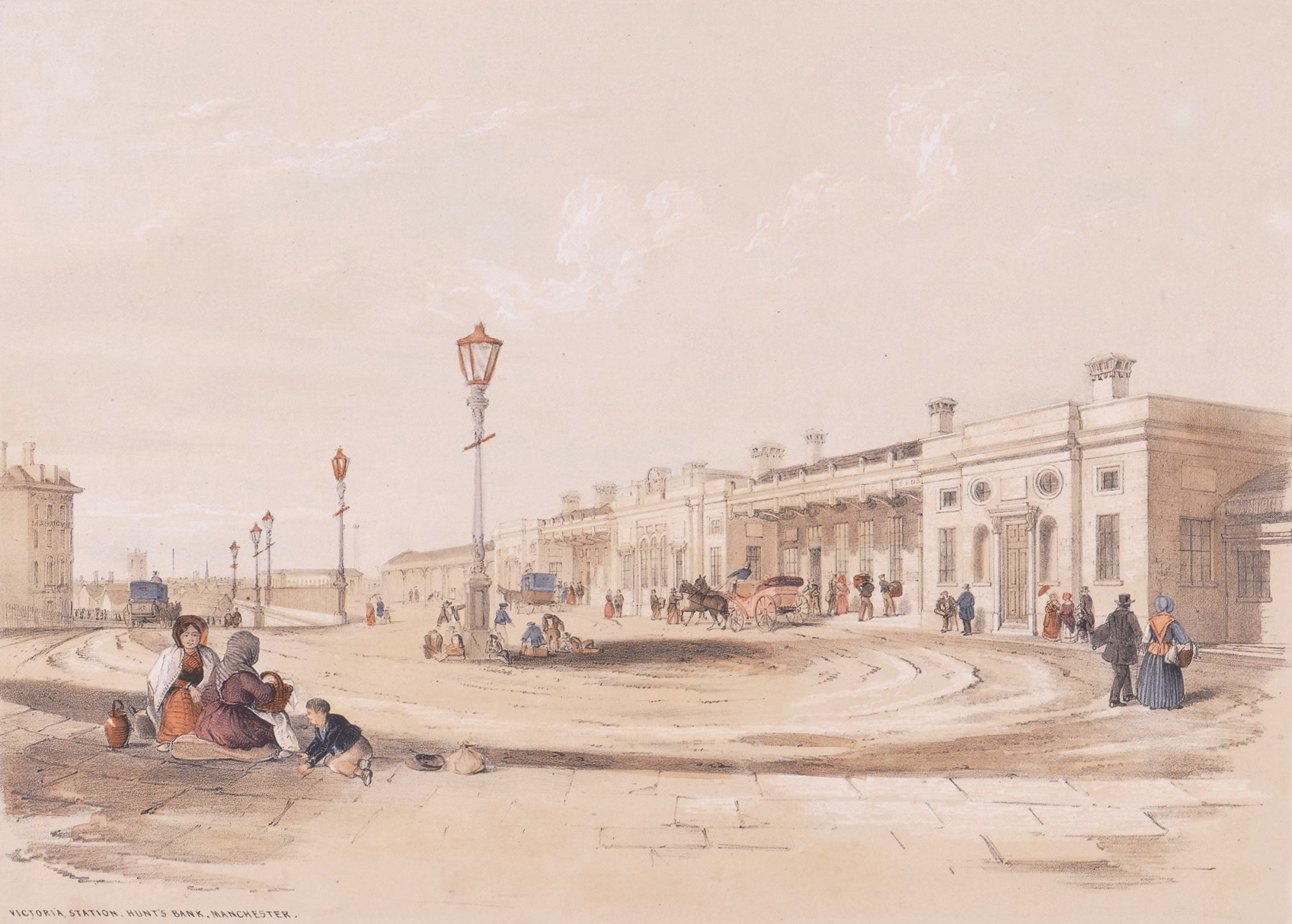 Tait (Arthur Fitzwilliam) Victoria Station, Hunt's Bank, Manchester,