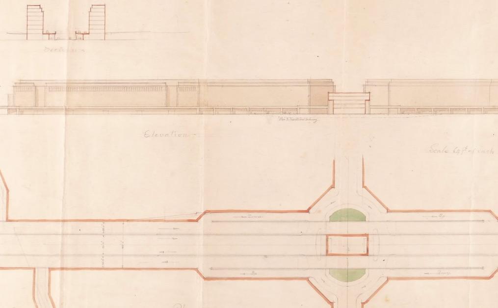 Sir Giles Gilbert Scott OM, FRIBA (1880-1960). Forward Planning – Rebuilding London after the Second World War